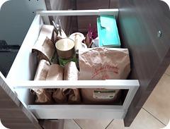 9 actions pour ranger et organiser sa cuisine : tiroir à tisanes