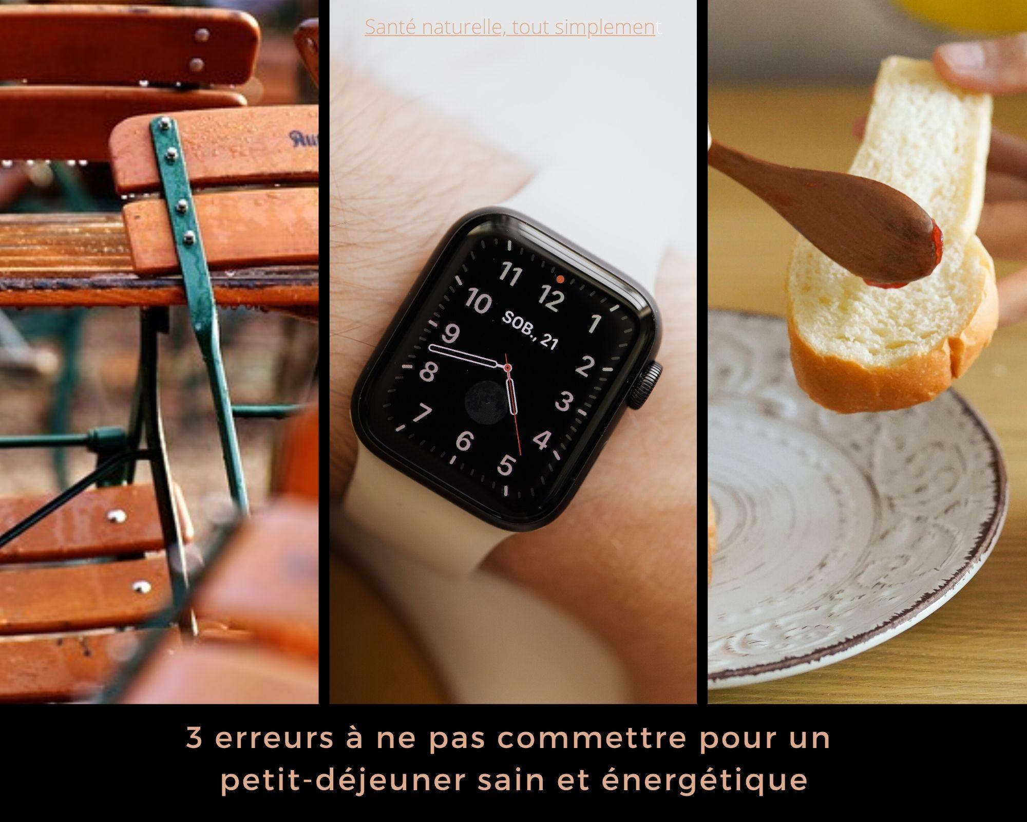 Petit-déjeuner sain et énergétique : 3 erreurs à ne pas commettre