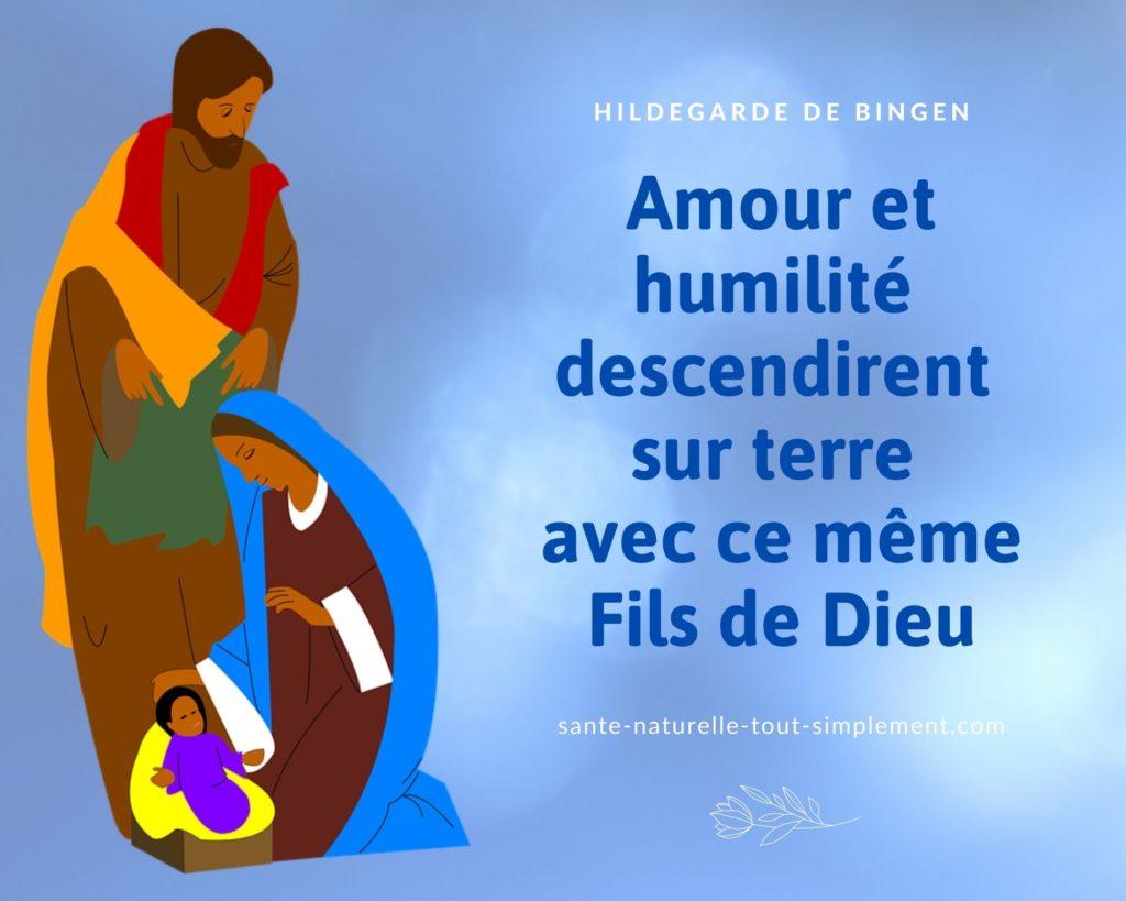 Avec ce même Fils de Dieu : citation de Sainte Hildegarde de Bingen
