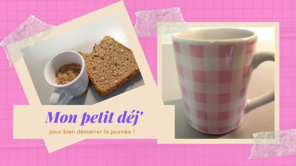 Mon petit déjeuner de diète jour 6