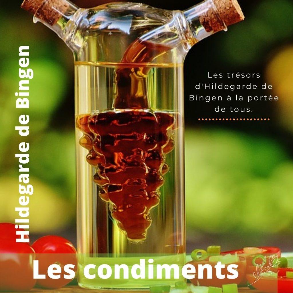 Le rôle des condiments dans la thérapie d'Hildegarde de Bingen