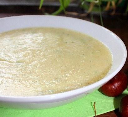 Potage à la semoule d'épeautre et bouillon