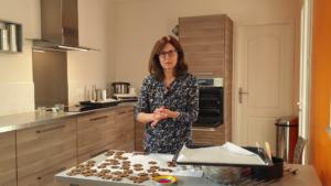 Recette allégée biscuits de la joie étape 6