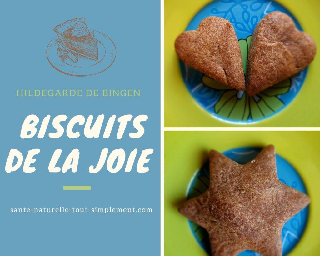 Biscuits de la joie : recette gourmande allégée